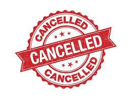 CANCELED TODAY: JV & Varsity Football Practice