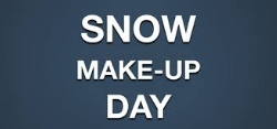 CONFIRMED: Make Up Day for February's Snow Day