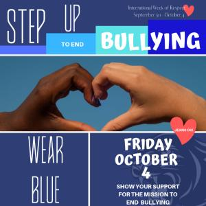 Stand Up to Stop Bullying Day