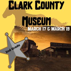 CLARK COUNTY MUSEUM: Credit to Accounts